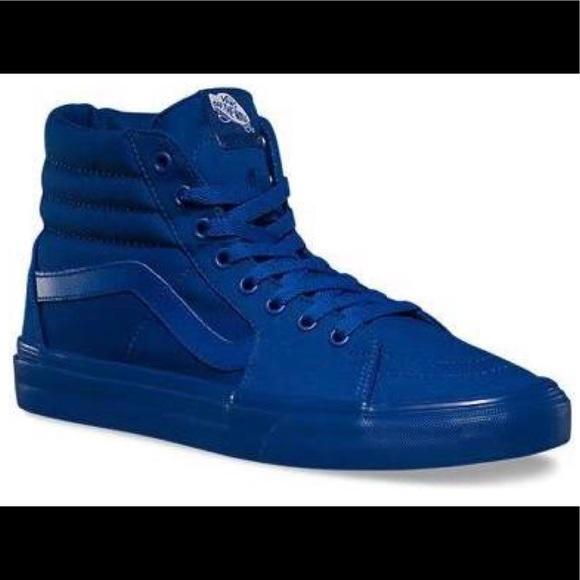 Vans Shoes   Vans High Top Royal Blue